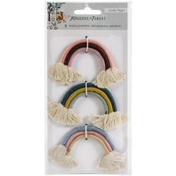 Набор текстильных радуг Magical Forest Rainbow Embellishments 3/Pkg