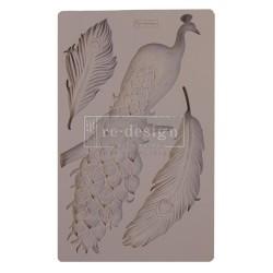 Молд Regal Peacock Re-Design Mould Prima Marketing 15х20см