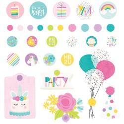 Набор брадс Magical Birthday Decorative Brads 30/Pkg Simple Stories