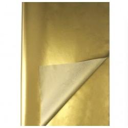 Папирусная бумага тишью Золото 50*70 см, 1л