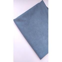 Замш Серо-голубой на дайвинге 25*37 см