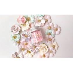 Набор пайеток Розовые с жемчужным блеском , 6мм, 12 мл