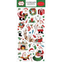 Чипборд Dear Santa, 15*30 см, Carta Bella