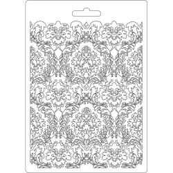 Текстурный мат DAMASK Stamperia Soft Maxi Mould A5