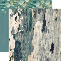 Скрапбумага Eucalyptus Native Breeze Double-Sided 30,5*30,5 см от Kaisercraft