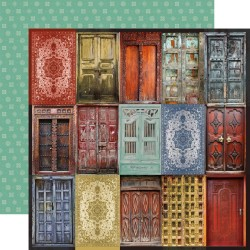 Скрапбумага Doorway Grand Bazaar Double-Sided 30,5*30,5 см от Kaisercraft
