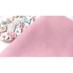 Замш Розовый на дайвинге 25*37 см