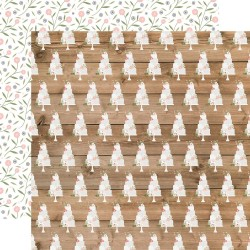 "Скрапбумага Our Wedding  Cut The Cake  Double-Sided Cardstock 12""X12"" от Echo Park Paper"