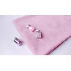 Замш Светло-розовый на дайвинге 25*37 см
