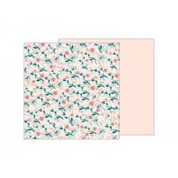 Скрапбумага лист Crate Paper Night Night Baby Girl Summer Breeze, 30,48*30,48 см