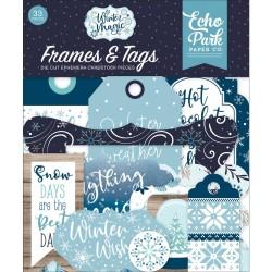 Высечки Frames & Tags Our Wedding, 33шт Echo Park Paper