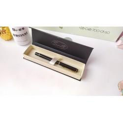 Шариковая ручка Sonata Черная, металл, в индивидуальной  упаковке