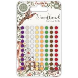 Набор эмалевых дотсов Assorted Colors, 80 шт, Craft Consortium