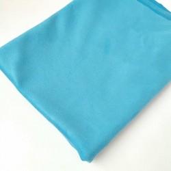 Замш Голубая лагуна на дайвинге 25х37 см