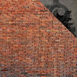 Лист скрапбумаги Brick Wall Wizard 30*30см, Echo Park