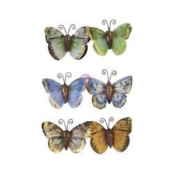 Набор бабочек Majestic Flight/Nature Lover, 6 шт, Prima Marketing