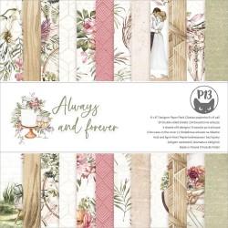 Набор бумаги Always & Forever 15*15см, 12 л P13