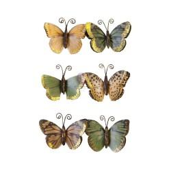 Набор бабочек Becoming/Diamond, 6 шт, Prima Marketing