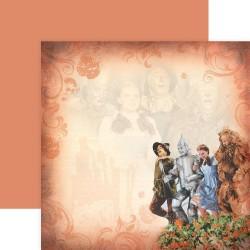 "Скрапбумага Poppy Field Of Oz Wizard Of Oz  12""X12"" от Paper House"