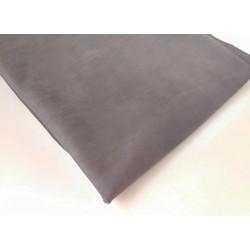 Замш двухсторонняя Темно серый, 50х150см