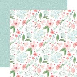 Лист скрапбумаги Lovely Floral Flower Garden - 30,5х30,5см - Carta Bella