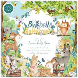 Набор бумаги Bluebells & Buttercups 15*15см, 10 л Craft Consortium