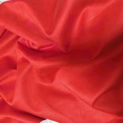 Замш Красный (алый) на дайвинге 25*37 см