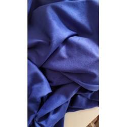 Замш Синий, тонкий, 50х150 см
