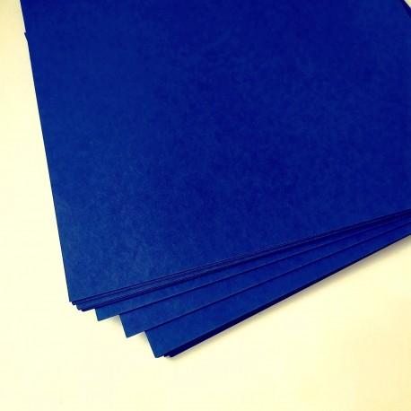 Дизайнерский картон Королевский синий 21*22,5 см, плотность 270 гр