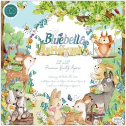 Набор бумаги Bluebells & Buttercups 30*30см, 10 л Craft Consortium