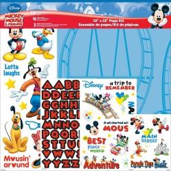 Кит Набор бумаги Mickey Mouse 30*30см, Trends Disney Page Kit