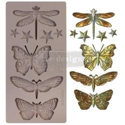 Молд Insecta & Stars Re-Design Mould Prima Marketing 15х20см