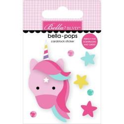 3-D наклейка Unicorn Magic - My Candy Girl Bella-Pops,  Bella Blvd