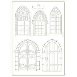 Молд Doors & Windows, Sleeping Beauty Maxi Mould A4 Stamperia