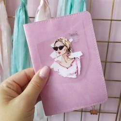 Картинка для термопереноса Девочка fashion 6.5х5 см