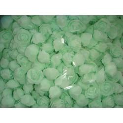 Бутон розы мятный, 2,5 см, латекс, 5 шт