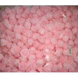 Бутон розы розовый, 2,5 см, латекс, 5 шт