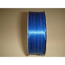 Лента атласная синяя, 3мм