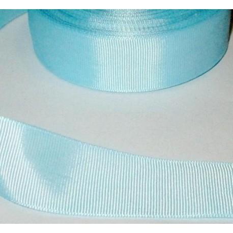 Лента репсовая светло-голубая, 12 мм
