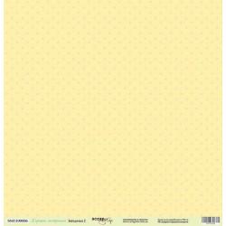 Лист односторонней бумаги 30x30 от Scrapmir Звёздочки 2 из коллекции Хорошее Настроение