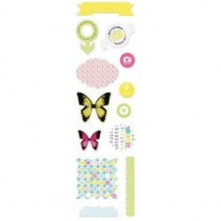 Высечки Lemon Owl - Around the Corner, Die Cuts №02 RU, 10х30 см