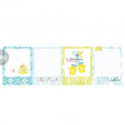 Фото рамки Cozy Winter, Photo Frames, 10*30 см RU от Lemon Owl плотность 200 гр/м2