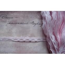 Кружево розовое 1,5 см.