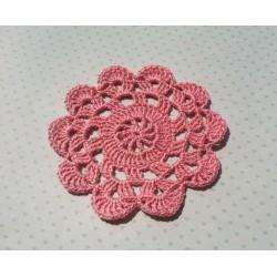 Салфетка Розовая 10 см