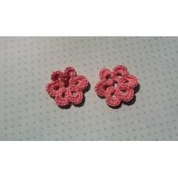 Цветочек розовый 3,5 см