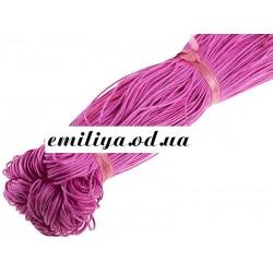 Вощенный шнур Темно-розовый, 5 м