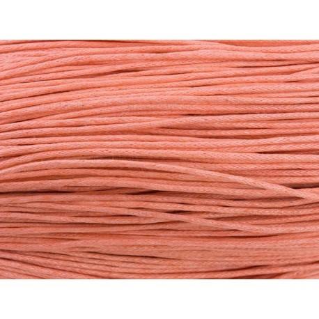 Вощенный шнур Персиковый, 5 м