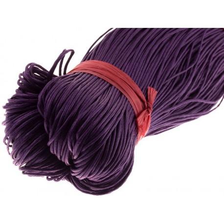 Вощенный шнур Фиолетовый, 5 м