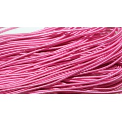 Резинка розовая круглая 2мм, ярд