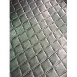 Экокожа Каретная стяжка, серебро, 50*22,5 см
